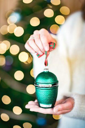 Big Green Egg kerstbal kerstmis ornament
