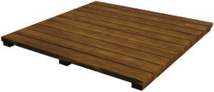 Acacia houten plateau - Modular Outdoor Workspace