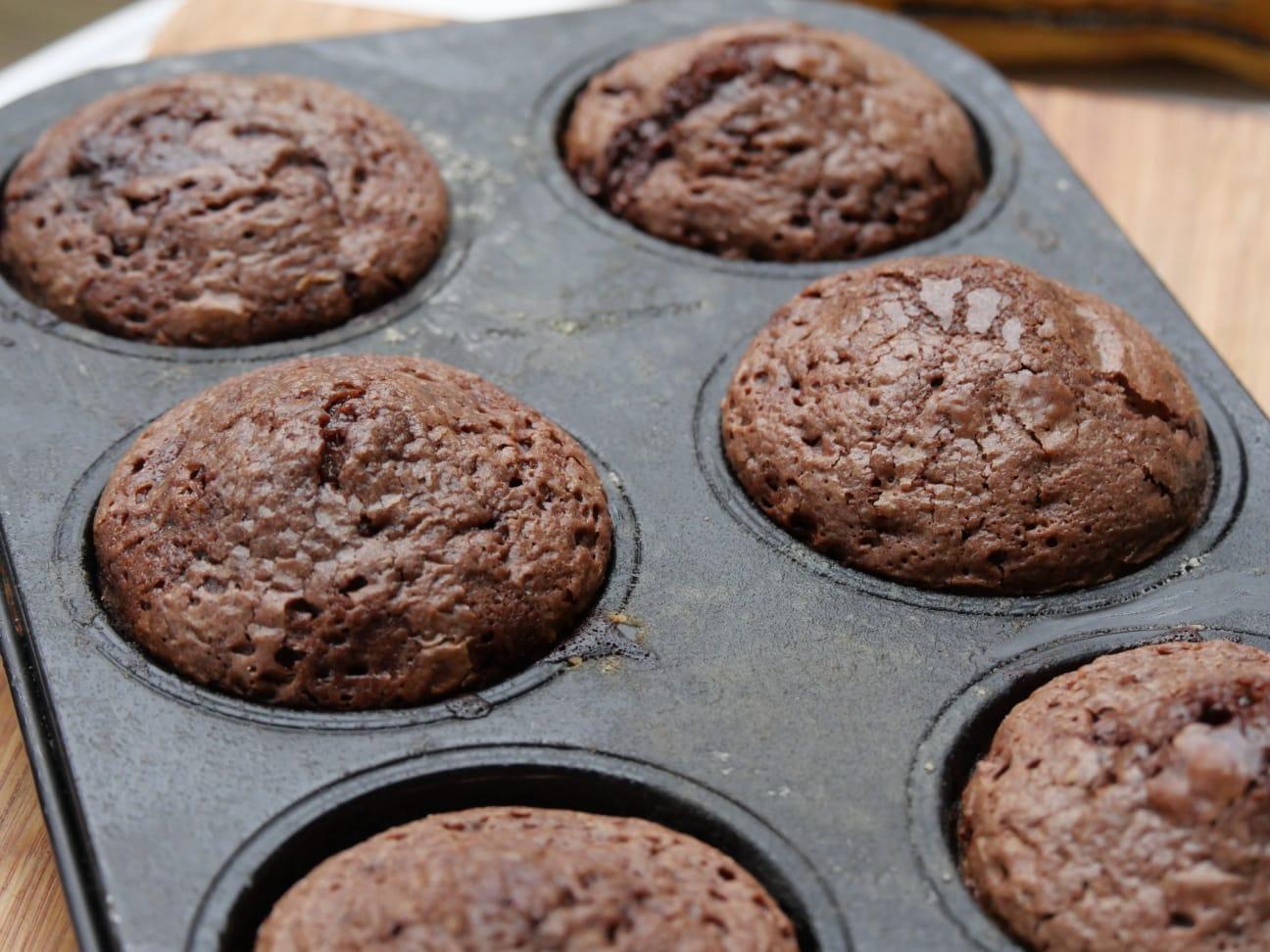 Chocolade BBQ muffin – Moelleux au chocolate